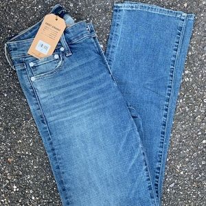 Lucky brand jeans NWT straight leg jeans size 6/28